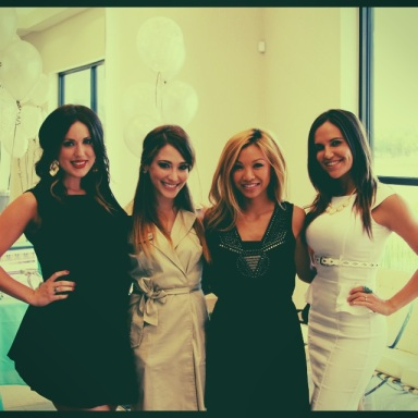 "A few of us at our ""Botox After Hours"" event!"