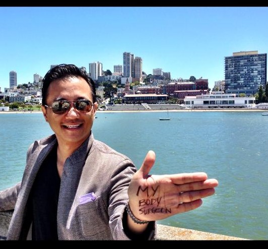 """Dr. Nguyen's """"Fun in the Sun"""" picture! Don't worry, he's not in the contest;) Hurry up and submit your photo before the summer is over!"""