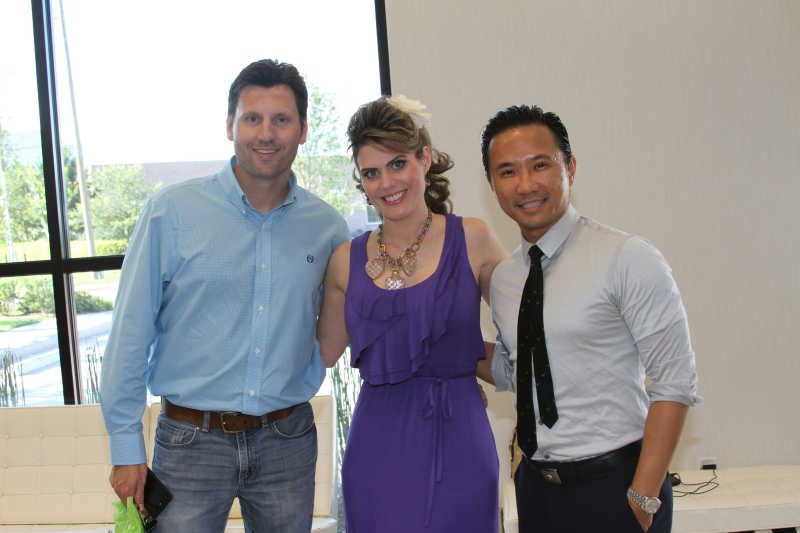 Lance and Kristi with Dr. Nguyen. Thanks for coming guys!