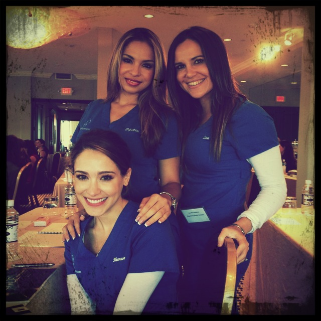 At the Revision® Skincare Seminar, at Hotel ZaZa, in Houston, Texas!