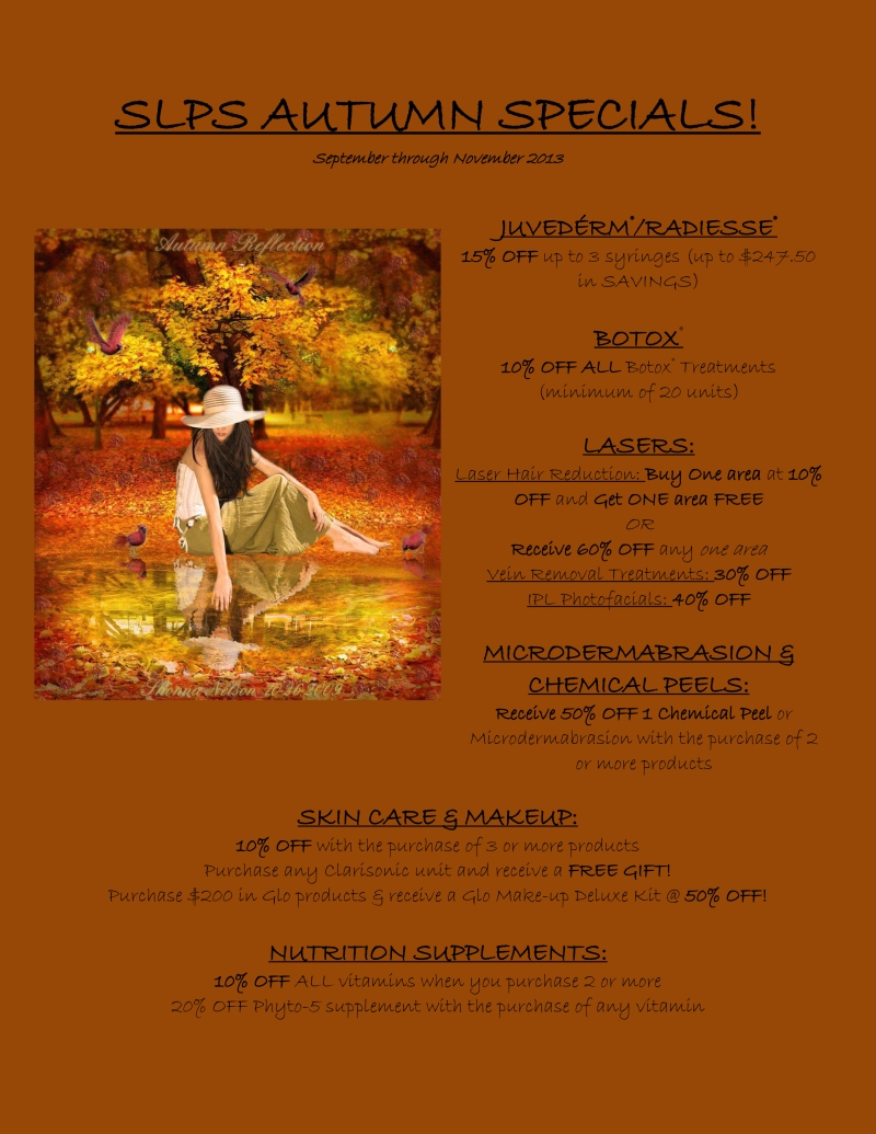 SLPS AUTUMN SPECIALS