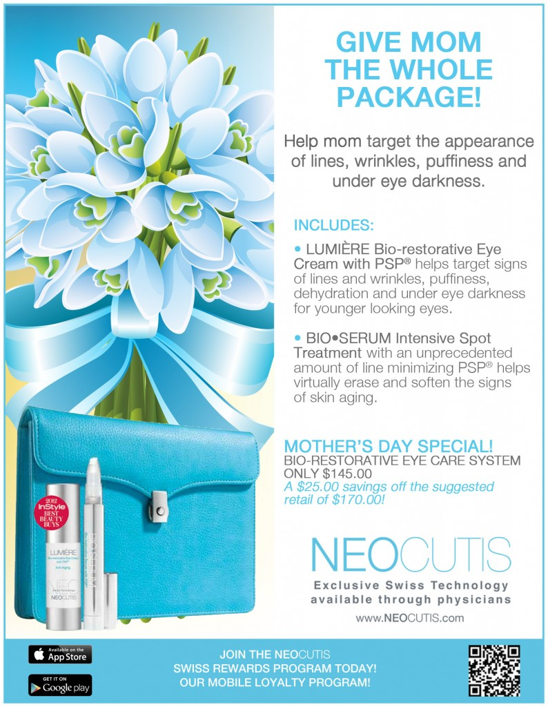 10% OFF Eye Intervention Kits ALL WEEK!  Happy Mother's Day!